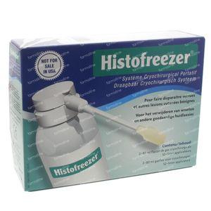 Histofreezer Cryosurg Syst a/Verrue 2x80ml 1 pièce