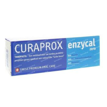Curaprox Enzycal Zero Dentifrice 75 ml
