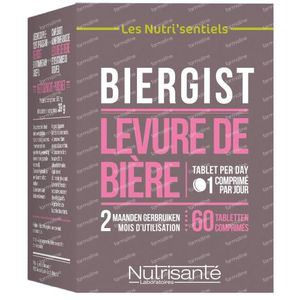 Les Nutri'sentiels Bierhefe 60 tabletten