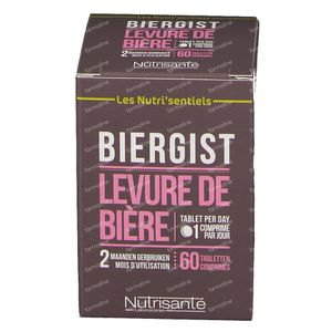Les Nutri'sentiels Beer Yeast 60 tablets