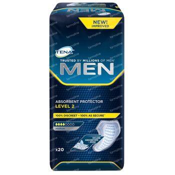 TENA Men Protection Absorbant Level 2 (Medium) 20 pièces