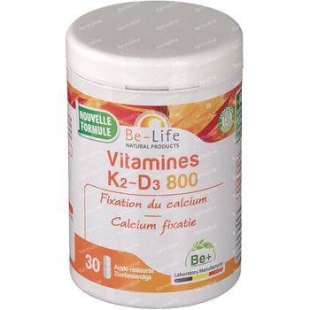 Be-Life Vitamine K D3 800 UI 30 capsules