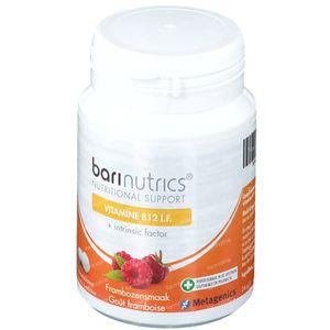 BariNutrics  Vitamine B12 Framboos 90 tabletten