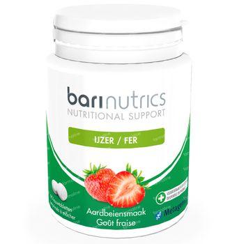 BariNutrics IJzer Aardbei 90 tabletten