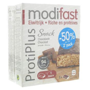 Modifast Protiplus Barre Chocolate 324 g