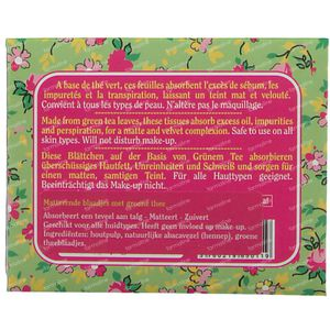 Lady Green Voile de Perfection Green Tea Oil Blotting Papers 50 pieces
