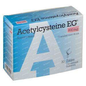 Acetylcysteïne EG  600mg 30 zakjes