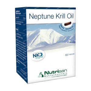 Nutrisan Neptune Krill Oil 60 St Gélules Souples