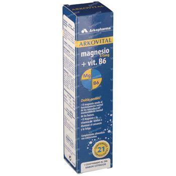Arkovital Magnésium B6 21 comprimés effervescents