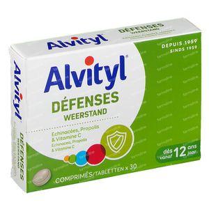 Alvityl Défenses Comprimés 30 comprimés
