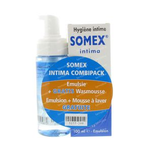 Somex Intima + Mousse Gratuit 180 ml