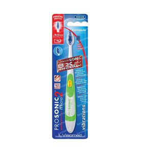 Prosonic Micro2 Sonic Toothbrush Light Green 1 item