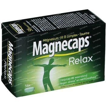 Magnecaps Relax Magnésium 170mg & Vit B & Taurine 56 comprimés