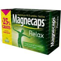 Magnecaps Relax Magnesium 170mg & Vit B & Taurine + 25% GRATIS 70  tabletten