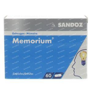 Memorium Sandoz 180mg 60 capsules