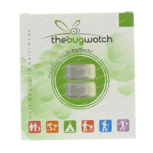 Bug Watch Bracelet Anti-Moquito Block Refill 2 St
