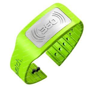 Bug Watch Bracelet Anti-Moustique Lime Green 1 pièce