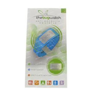 Bug Watch Bracelet Anti-Moustique Blue Lagoon 1 St