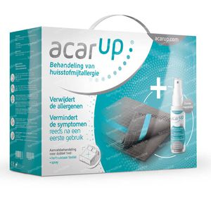 Acar'Up Anti-Huisstofmijt Kit 2 Lakens + 100 ml Spray 1 set