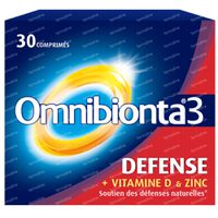 Omnibionta 3 Défense 30  comprimés
