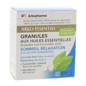 Arko Essentiel Relaxation - Sleep Granules 20 St