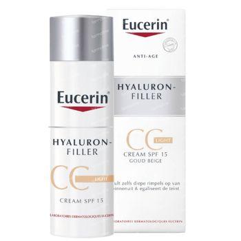 Eucerin Hyaluron-Filler CC Crème Clair 50 ml