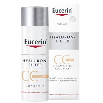 Eucerin Hyaluron-Filler CC Crème Light 50 ml