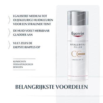 Eucerin Hyaluron-Filler CC Crème Medium 50 ml