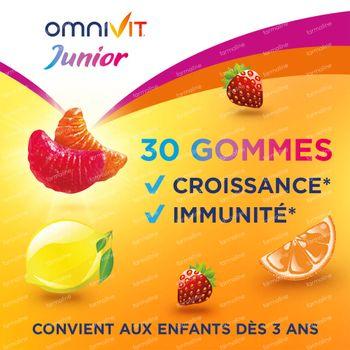Omnivit Junior Gummies - Vitamine & Enfant 30 pièces