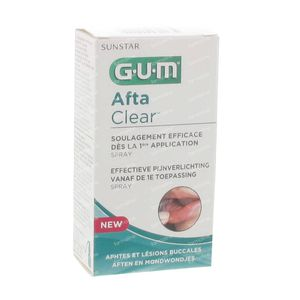 Gum Aftaclear Spray 2420 15 ml Spray