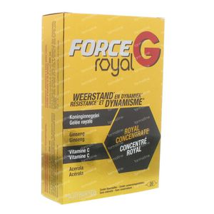 Nutrisante Force G Royal 20 ampoules