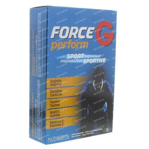 Nutrisante Force G Perform 20 St Ampolle