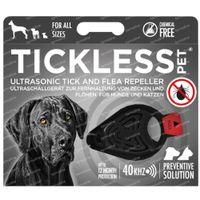 Tickless Ultrasone Verjager Teek/Vlo Zwart 1 st