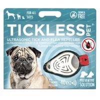 Tickless Ultrasone Verjager Teek/Vlo Beige 1 st
