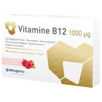 Metagenics Vitamine B12 1000 mcg 84 comprimés à croquer