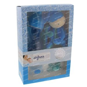 Difrax Giftset Baby Boy 4 pieces
