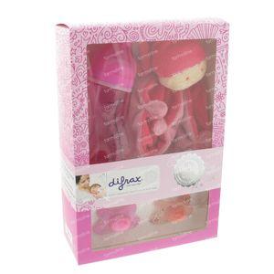 Difrax Giftset Baby Girl 4 items
