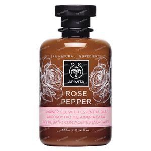 Apivita Gel Douche Rose&Pepper 300 ml