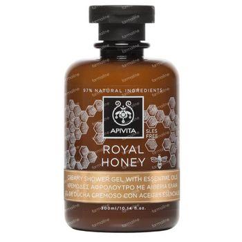 Apivita Royal Honey Crème de Douche aux Huiles Essentielles 300 ml