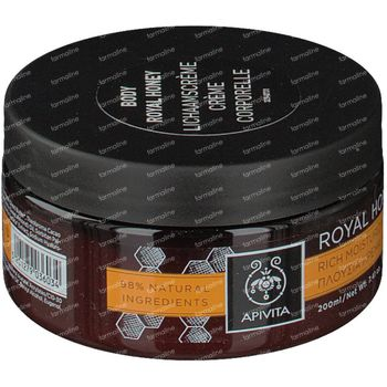 Apivita  Body Creme Hydratante Royal Honey 200 ml