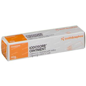 Iodosorb Pommade 40 g zalf