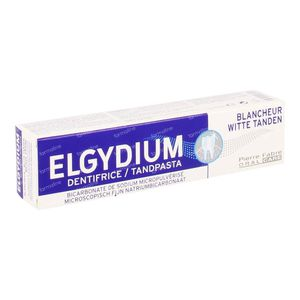 Elgydium Witte Tanden Tandpasta 75 ml