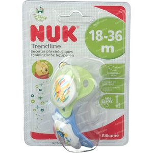 NUK Pacifier Duo Winnie TP +18M 2 pieces