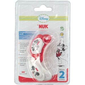 NUK Pacifier Duo Minnie 6-18M 2 pieces