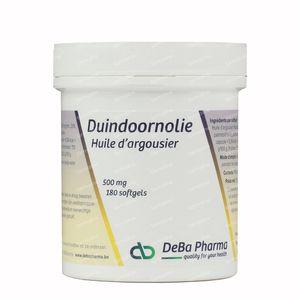 Deba Duindoorn Olie 500 mg 180 capsules