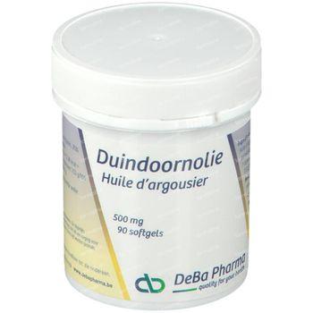 Deba Huile D'Argousier 500 mg 90 capsules
