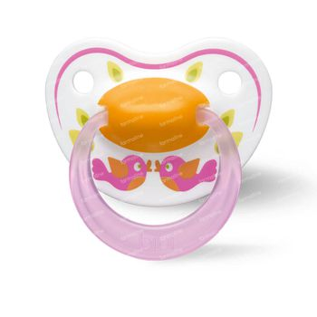 Bibi Fopspeen Happiness Dental Play with Us 0-6 Maanden 1 stuk