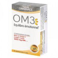OM3 Emotioneel Evenwicht Originele Formule 60  capsules