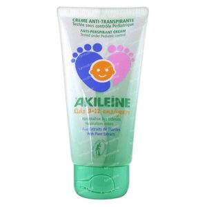 Akileine Kids Anti-Perspirant Cream 50 ml Cream