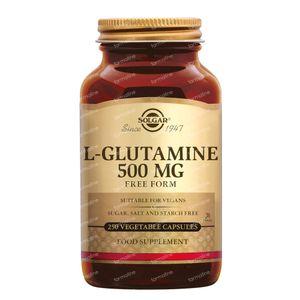 Solgar L-Glutamine 500 mg 250 capsules